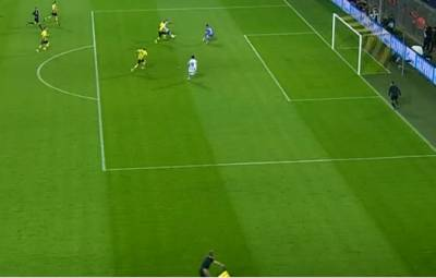 Borussia eliminates Malaga from Champions League after a game riddled with offside mistakes.