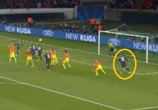 PSG and Barcelona draw after referee fails to disallow Ibrahimovic's offside goal.