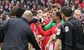 Suarez-Evra hostilities continue!!!  What will the FA do now!!!