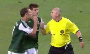 Referee's whistle sparks rare controversy in MLS game.