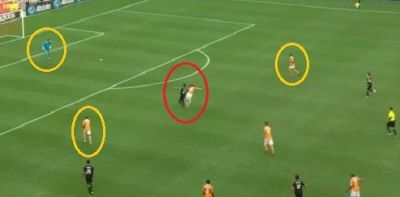 Salazar's no-call decision pivotal in Dynamo's win over United!